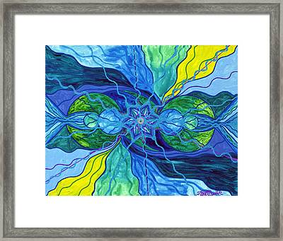 Tranquility Framed Print by Teal Eye  Print Store