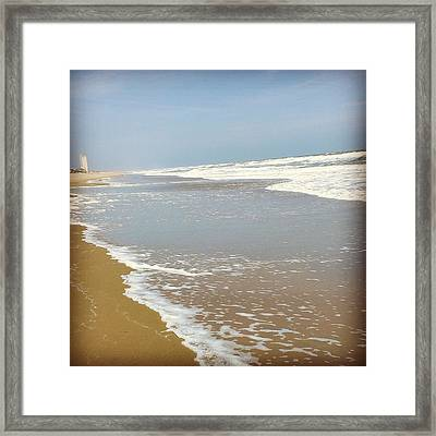 Framed Print featuring the photograph Tranquility by Thomasina Durkay