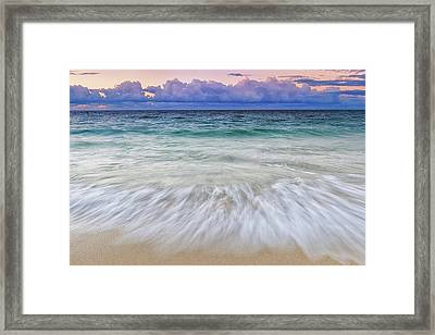 Tranquility Framed Print by Hawaii  Fine Art Photography