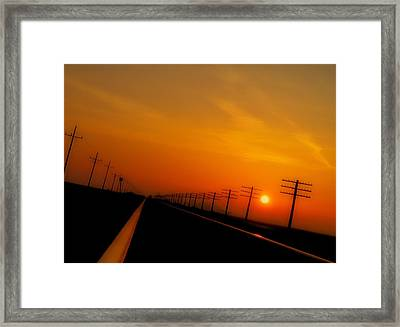 Tranquility Framed Print by Tom Druin
