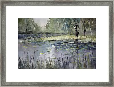 Tranquillity Framed Print by Ryan Radke