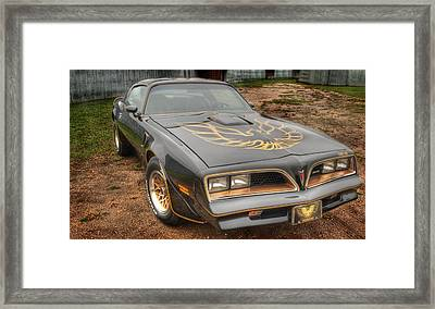 Trans Am 2 Framed Print by Thomas Young