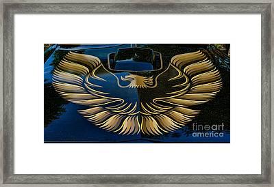 Trans Am Eagle Framed Print