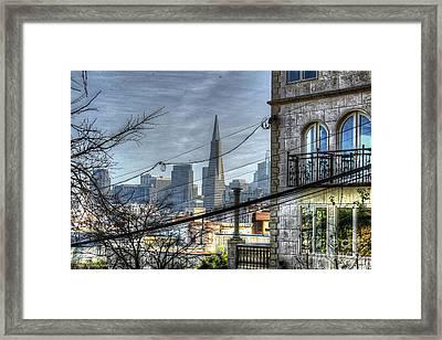 Transamerica View Framed Print