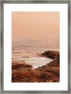 Transcend Framed Print by Lourry Legarde