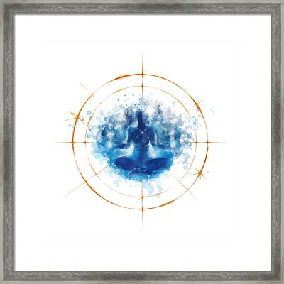 Transcendence II Framed Print by Vincent Carrozza
