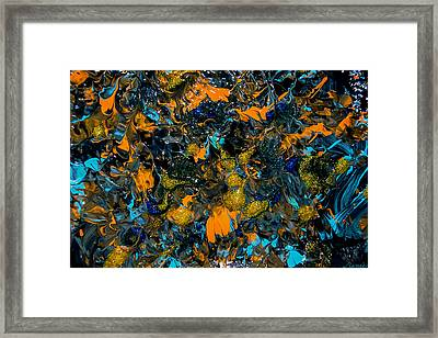 Transcendental Joy-sold- Painting-- Original  Framed Print by Renee Anderson
