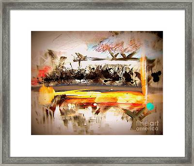 Framed Print featuring the painting Transcendental Window by Christine Ricker Brandt