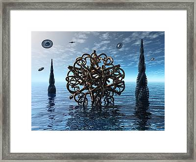 Transdifferentiation Framed Print