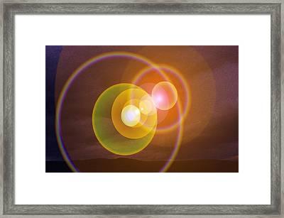 Transending Framed Print by Jeff Swan