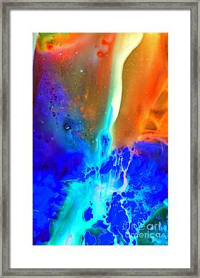 Framed Print featuring the painting Transfer by Christine Ricker Brandt
