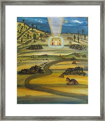 Transfiguration Of Jesus Framed Print
