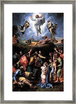 Transfiguration Reproduction Art Work Framed Print