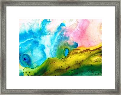 Transformation - Abstract Art By Sharon Cummings Framed Print