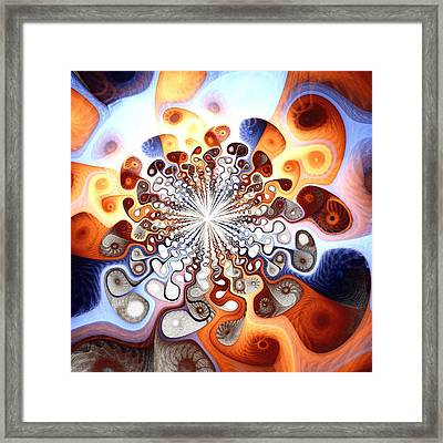 Transformation Framed Print by Anastasiya Malakhova