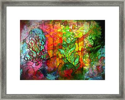 Transformation Framed Print by Bellesouth Studio