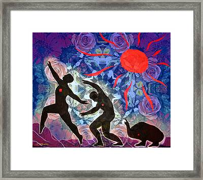 Transformation/recovery Framed Print