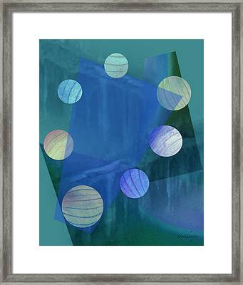 Transformation Framed Print by Terri Harper