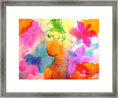 Transformed Into His Image Framed Print