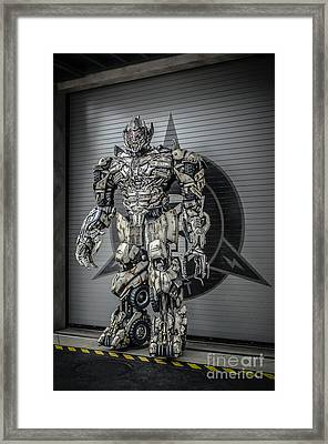 Transformer At Nest Framed Print by Edward Fielding