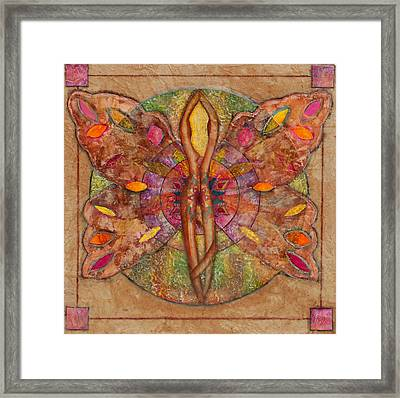Transforming Together Framed Print by Cheryl Irwin