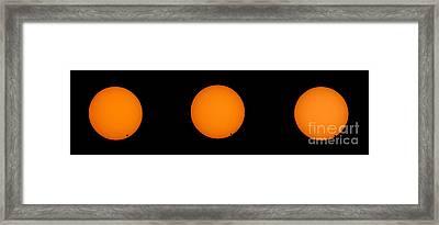 Transit Of Venus 2004 Framed Print