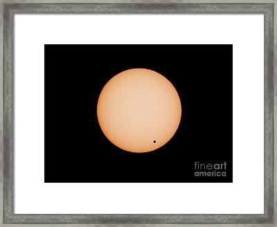 Transit Of Venus Framed Print