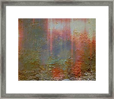 Rust Never Stops Framed Print
