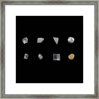 Transition Metals Framed Print by Science Photo Library