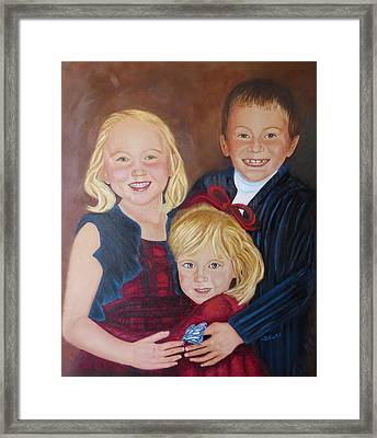 Framed Print featuring the painting Transition by Sharon Schultz