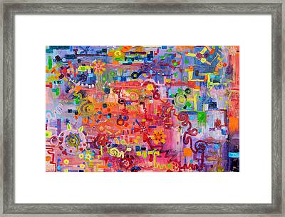 Transition To Chaos Framed Print