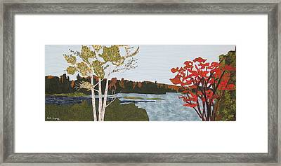 Transitional Peace Framed Print by Anita Jacques