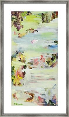 Transitions 2 Framed Print by Vanessa Shinmoto