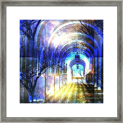 Transitions Through Time Framed Print by Anna Porter