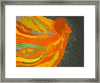 Transitions Framed Print by William Roby