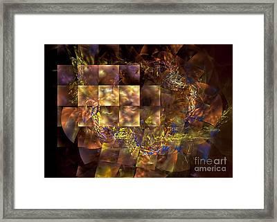 Translucence Framed Print by Olga Hamilton
