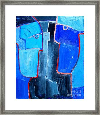 Translucent Togetherness Framed Print by Ana Maria Edulescu