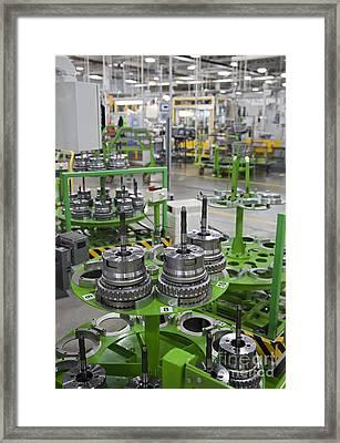 Transmission Plant Framed Print