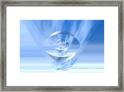 Transparency. Unique Art Collection Framed Print by Oksana Semenchenko