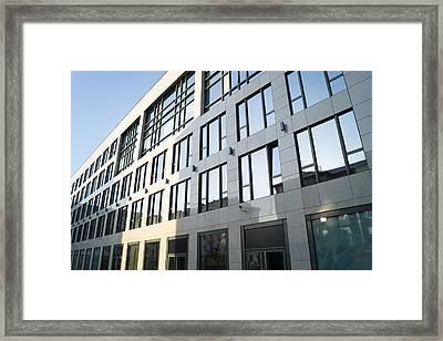 Transparent Building Framed Print by Dmitrii Bogdanov