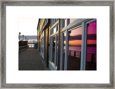 Transparent Framed Print