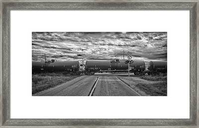 Transport Framed Print by Ricky L Jones