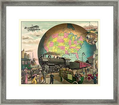 Transportation Framed Print by Gary Grayson
