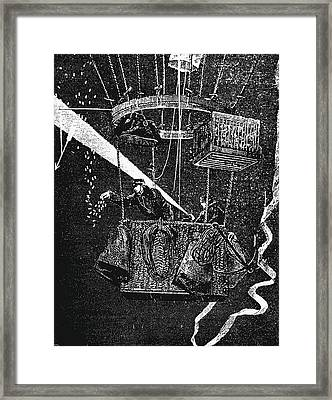 Transporting Carrier Pigeons Framed Print by Universal History Archive/uig