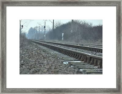 Transsiberian Path Framed Print