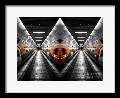 The Clyde Glasgow Framed Prints