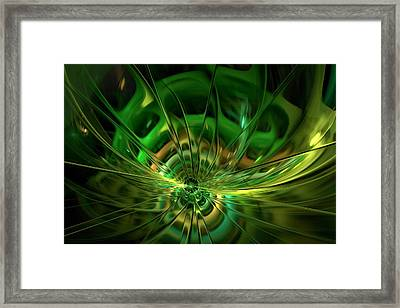 Transwarp Shift Framed Print by Doug Morgan