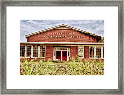 Transylvania Elementary Framed Print by Scott Pellegrin