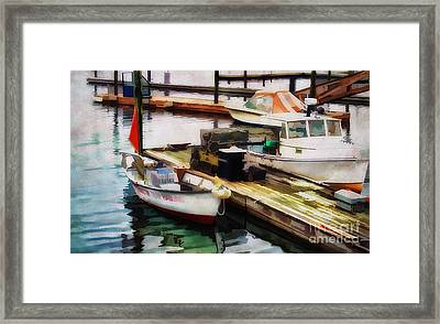 Trap Hauling Framed Print by Darren Fisher