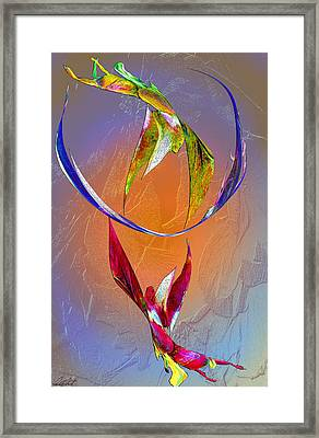 Trapeze Angels Framed Print